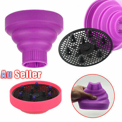 AU14.45 • Buy Silicone Diffuser NEW Foldable Professional Travel Salon Universal Hair Dryer