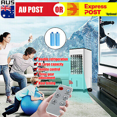 AU76.99 • Buy Portable 8L Air Cooler Fan Air Conditioner Cooling Fan Humidifier AC Anion *
