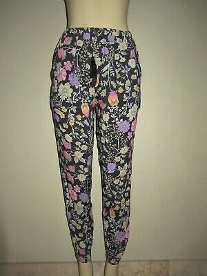 AU154.88 • Buy Spell & The Gypsy Collective Sayulita Nightshade Floral Jogger Pants Size XS