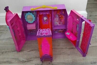 £19.99 • Buy Barbie Castle Butterfly Bedroom Fold Out Playset Carry Handle Mattel 2013