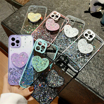 AU12.37 • Buy For IPhone 12 11 Pro Max XS XR Shockproof Bling Glitter Stand Back Case Cover AU