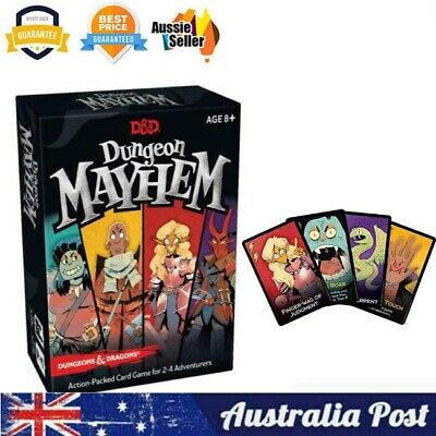 AU17.95 • Buy New Dungeons & Dragons Dungeon Mayhem Family Cards Board Game AU STOCK
