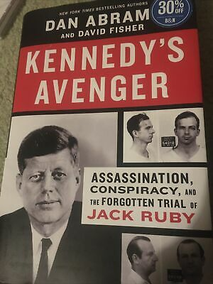 £11.62 • Buy Kennedy's Avenger: Assassination, Conspiracy, By Dan Abrams Hardcover 133591403X