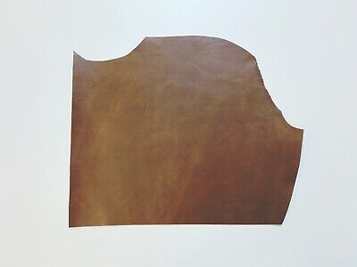 £34.99 • Buy 2mm Thick Dyed Veg Tan Leather Cowhide Craft - Distressed Brown - 2.5sqft+