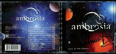 AU21.82 • Buy 1 CENT CD Ambrosia – Live At The Galaxy / SIGNED / Soft Rock / Canada