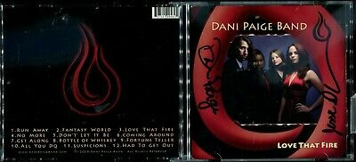 AU0.01 • Buy 1 CENT CD Dani Paige Band – Love That Fire / SIGNED