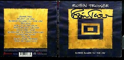 AU9.29 • Buy 1 CENT CD Robin Trower – Coming Closer To The Day / SIGNED / Digipak / Blues