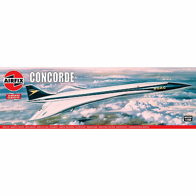 £23.99 • Buy Airfix Vintage Model Kit 1:144 Scale Concorde (A05170V) *NEW*