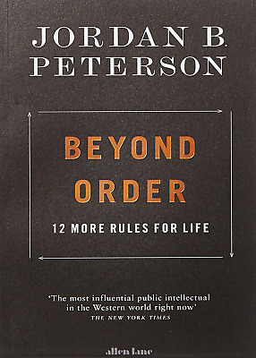 AU23.19 • Buy Beyond Order: 12 More Rules For Life By Jordan B. Peterson, Paperback Book NEW