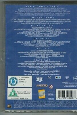 £7.99 • Buy Rogers And Hammerstein Collection 6 FILMS (DVD, 2008) BRAND NEW SEALED