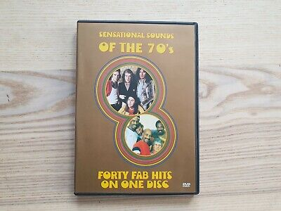 £7.99 • Buy Sensational Sounds Of The 70s Forty Fab Hits DVD