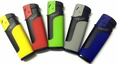 £3.85 • Buy 3 X Windproof Flame Cigarette Lighter Electronic NEON FREE P&P