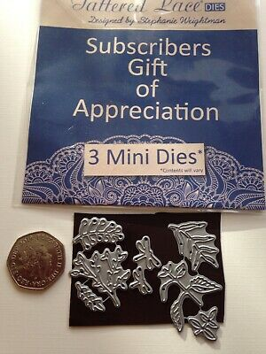 £2.75 • Buy Job Lot Bundle 8 Tattered Lace Dragonfly's  / Leaves Mini Cutting Dies. As Photo