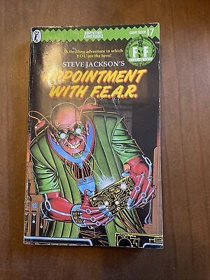 AU11.13 • Buy Appointment With F.E.A.R. By Steve Jackson (Paperback, 1985)