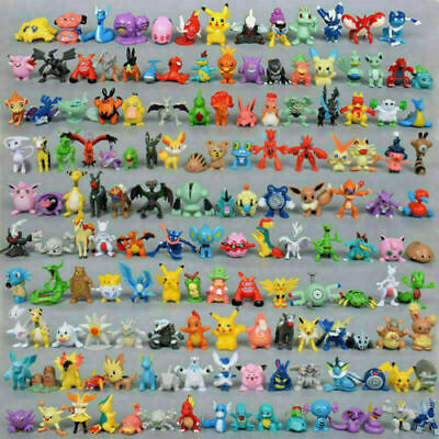 £14.99 • Buy 144Pcs Pokemon Pikachu Monster Collectible Action Figures Doll Set Kids Toy Gift