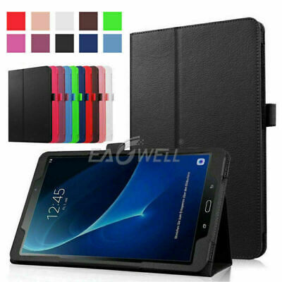 AU17.96 • Buy For Samsung Tab A 8.0 SM-T350 SM-T355 SM-T355Y Tablet PC Leather Flip Cover Case