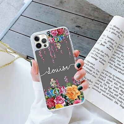 AU12.69 • Buy Personalised Marble Phone Case Cover Gel For Apple Samsung Initial Name - 270-6