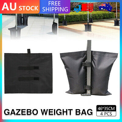 AU23 • Buy 4PCS Garden Gazebo Foot Leg Feet Weights Sand Bags For Marquee Party Tent AU