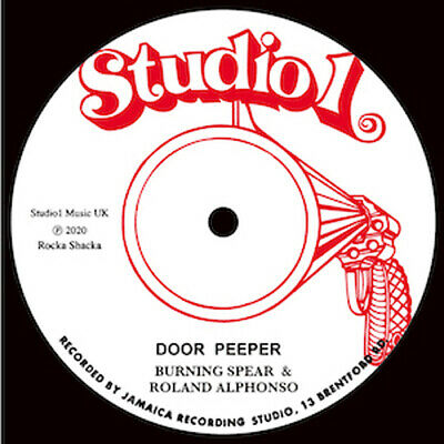 £20.50 • Buy Burning Spear & Roland Alphonso - Door Peeper / Willie Williams  All The Way 12