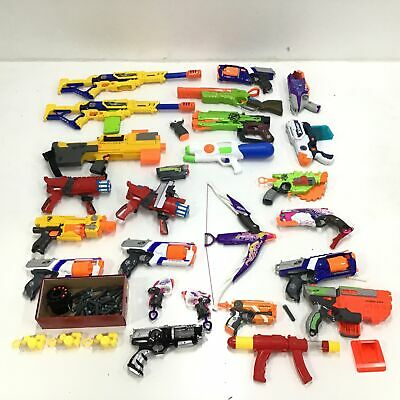 AU31 • Buy Assorted Bulk Nerf Toys Untested Parts Only & Accessories #327