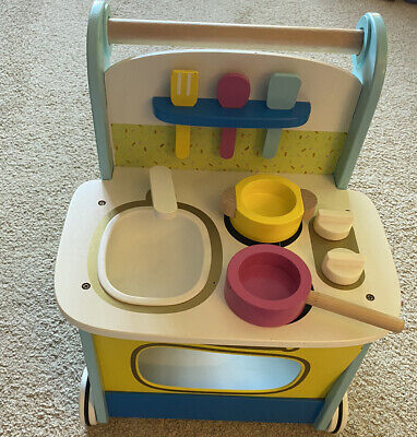 £25 • Buy Early Learning Centre Wooden Activity Kitchen Walker