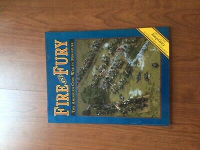 AU67.33 • Buy Fire And Fury: The American Civil War In Miniature Illustrated 1990