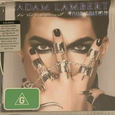 AU17.95 • Buy Adam Lambert  For Your Entertainment Tour Edition CD And DVD  Like New