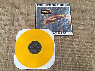 £150 • Buy The Stone Roses Limited Edition Gold Record Fools Gold 9.53 12  Vinyl Single