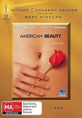 AU6.50 • Buy American Beauty Dvd Kevin Spacey Region 4 New And Sealed
