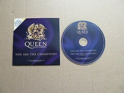 AU42.63 • Buy Queen + Adam Lambert - You Are The Champions - Cd Single - Copy 2632 / 3000 -new