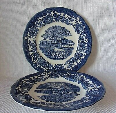 £5.99 • Buy TWO ROYAL WORCESTER - PALISSY AVONSCENES 175mm PLATES