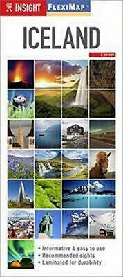 £3.60 • Buy Insight Guides Flexi Map Iceland (Insight Flexi Maps), Very Good Condition Book,