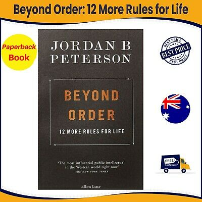 AU23.99 • Buy Beyond Order: 12 More Rules For Life By Jordan B. Peterson   Paperback Book NEW