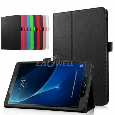 AU19.68 • Buy For Samsung Tab A 8.0 SM-T355 Leather Flip Tablet Cover Foldable Kickstand Case