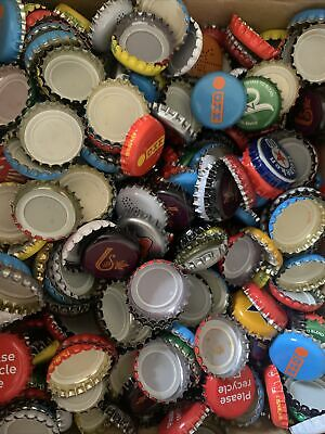 £5.50 • Buy X800 MIXED Colours/Brands Crown Crimped Lager/Beer Bottle Tops, Caps-Arts&Crafts