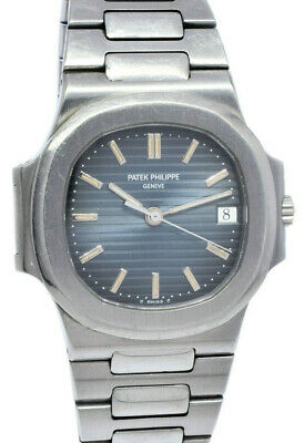 £49924.27 • Buy Patek Philippe 3800 Nautilus Stainless Steel Blue Dial 37.5mm Watch 3800A/001