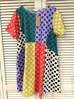 """AU135 • Buy New! Cute GORMAN  Roundabout"""" Swing Dress * Size 8 (also Fits 10)"""
