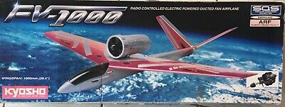 £120 • Buy Kyosho Radio Controlled, Electric Powered, Ducted Fan FV-1000 Airplane