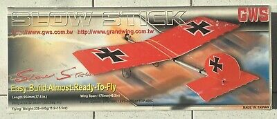 £55 • Buy Slow Stick Radio Controlled Model Aircraft By GWS