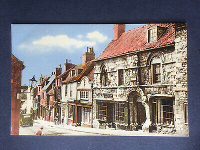 £3 • Buy Frith Postcard - Jews House And Steep Hill, Lincoln...Lincolnshire