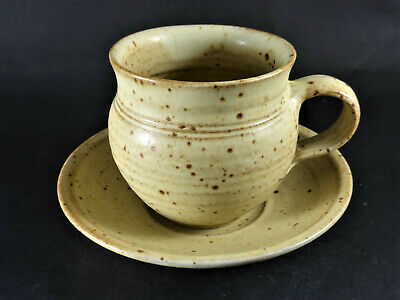£20 • Buy RAY FINCH Winchcombe Studio Pottery Cup & Saucer Michael Cardew, Leach Link #2
