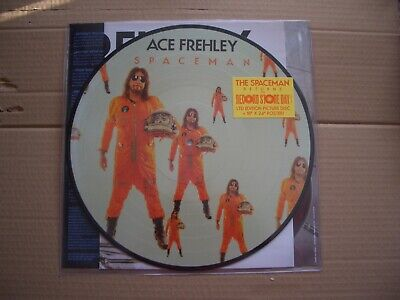£37.99 • Buy Ace Frehley (kiss) - Spaceman - Lp Picture Disc - 2019 Rsd Record Store Day New