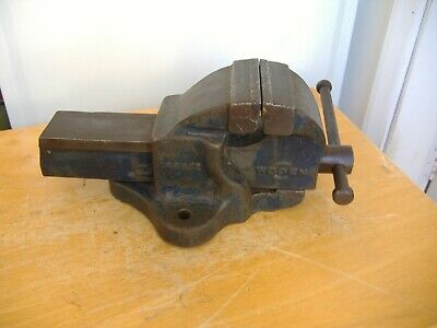 £42 • Buy Vintage Woden 186b/2 Engineers Bench Vice 3.1/2  Jaws