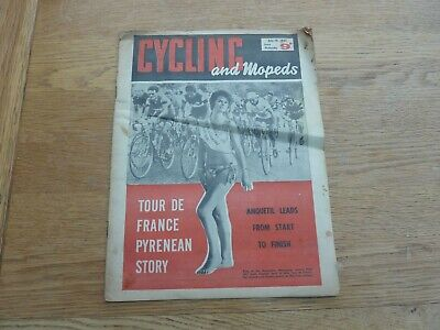£4.99 • Buy 1961 July Cycling And Mopeds Uk Magazine - Tour De France