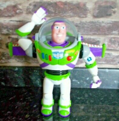 £11.99 • Buy Toy Story Buzz Lightyear Thinkway Toy Talking Light Up Wings Rare