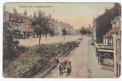 £3.50 • Buy Middle Row,Chipping Norton,Oxfordshire.postal Used 1908 Colour Postcard