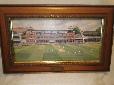 £2.99 • Buy Lords By Terry Harrison Framed Print Good Condition Signed With Original Frame
