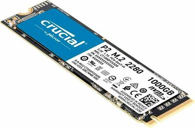 £69.99 • Buy 1TB Crucial P2 CT1000P2SSD8 Internal SSD, Up To 2400 MB/s ,,