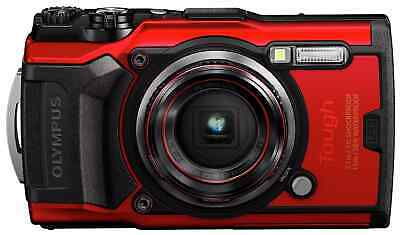 £33 • Buy Olympus TOUGH TG-6 Digital Camera - Red *Missing Battery & Accessoires*