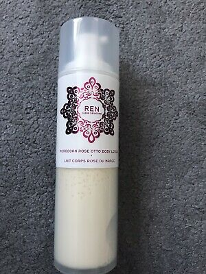 £13 • Buy New REN Clean Skincare Moroccan Rose Otto Body Lotion 200 Ml